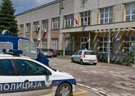 Policajci iz Trstenika okadili stanicu zbog duha (video)