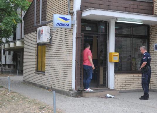 Razbojnik opljačkao poštu i povredio radnicu