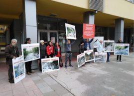 Protest zbog odbijanja rasprave o moratorijumu na MHE